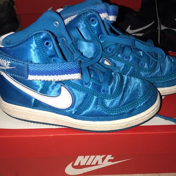 finest selection 041b9 fd379 Nike AF1 high tops blue